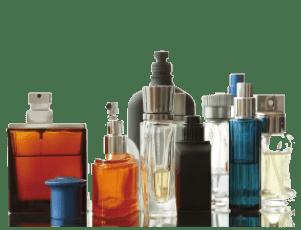 使いかけの古い香水・化粧品