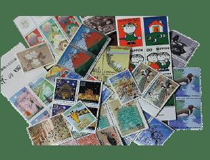 貯まっている切手や印紙類