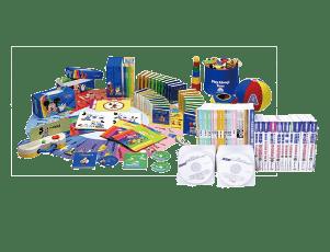 使い終えた幼児教材や各種教材
